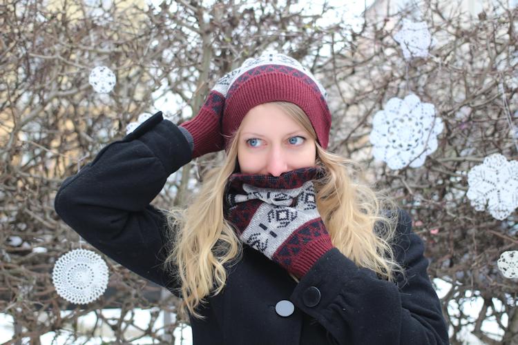 Mütze, Schal & Handschuhe aus Pullover {Upcycling} | nähmarie