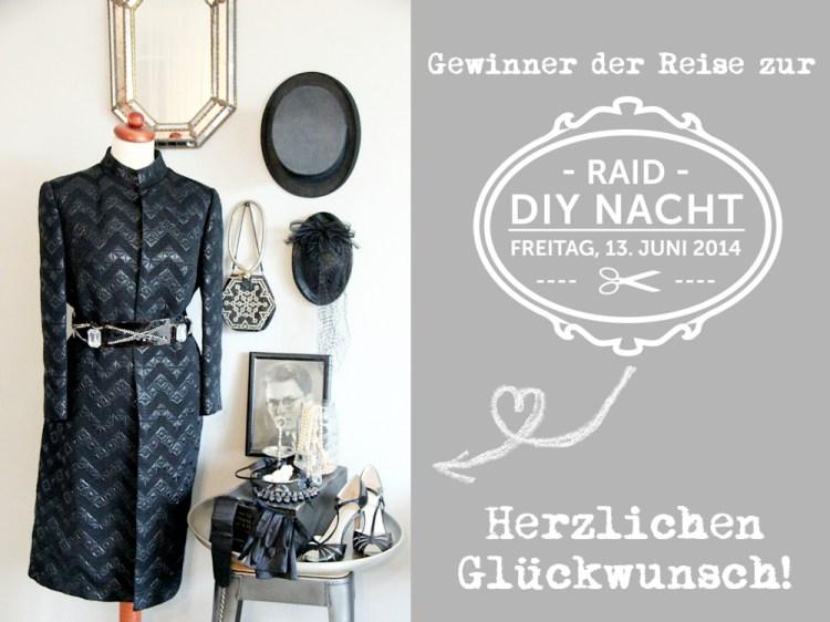 Gewinner RAID DIY NACHT 2014