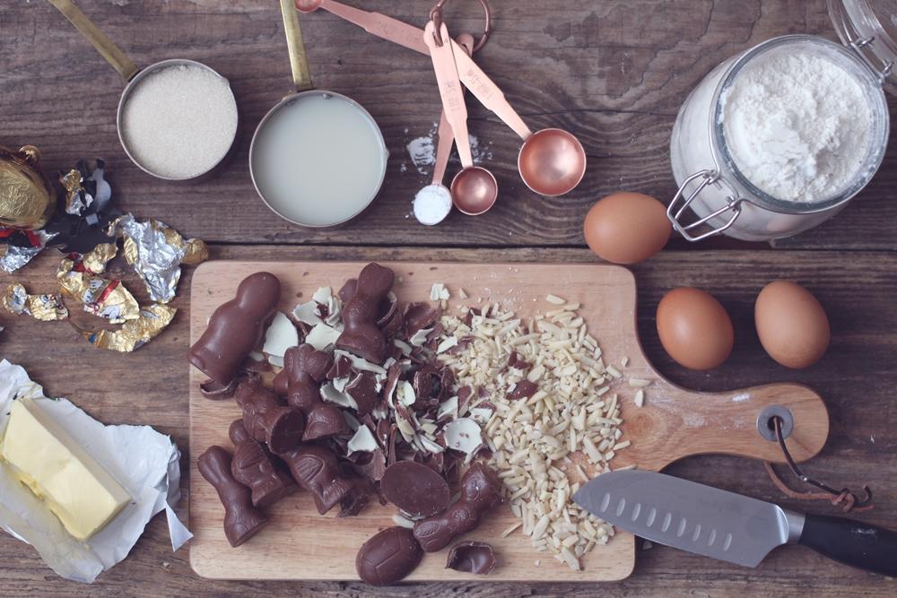 Osterhasen-Restekuchen