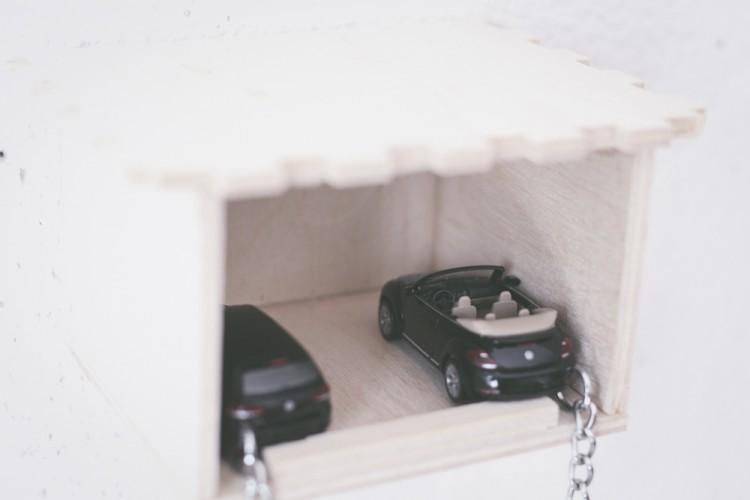DIY Dream Car Key Holder