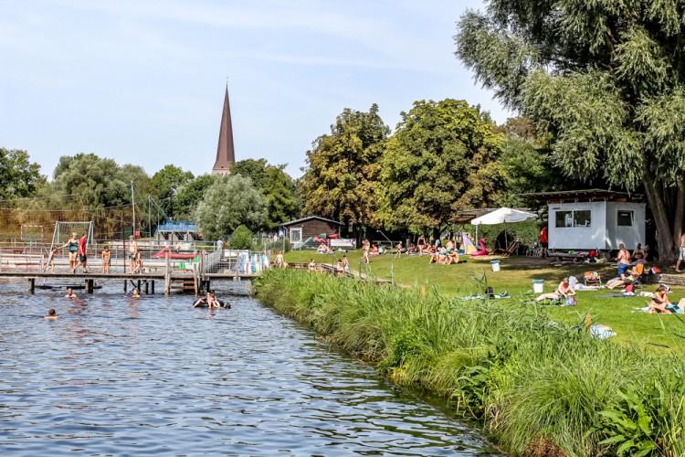 Flußbad Rostock