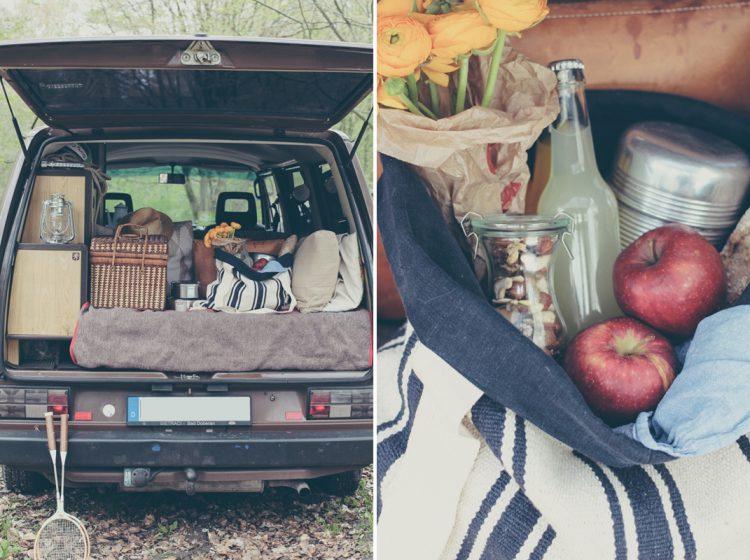 DIY Picknicktasche nähen - via naehmarie
