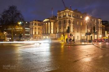 La nuit tombe sur Londres
