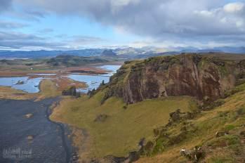 Au sommet de Dyrhólaey, vue magnifique