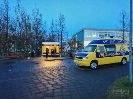 Reykjavik / Gauffre à Hallgrimskirkja