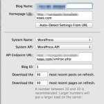 MarsEditで新しいWordPressのブログの登録がうまくいかない!(解決済み)