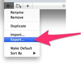 Sequel Proの設定をエクスポートする方法