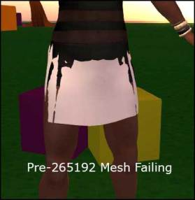 A Pre-265192 Mesh Failing