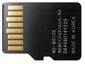 Back of real chip...