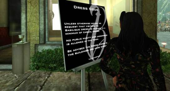 Basilique Dress Code - 2015