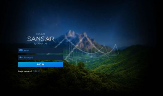 Sansar Login Screen - Sept 2015