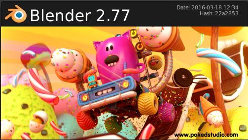Blender 2.77 - 3/19/2016