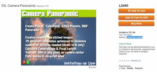 IOL Panoramic Camera - Oct 2016