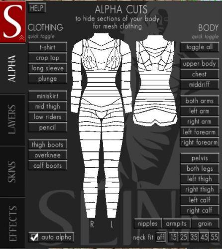 Second Life: Updated Slink Bodies | Nalates' Things & StuffNalates