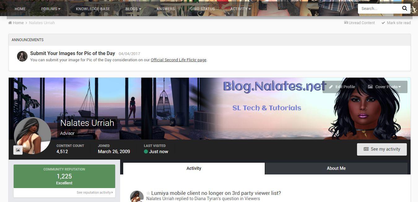 Second Life Forum Cover Photos   Nalates' Things & StuffNalates