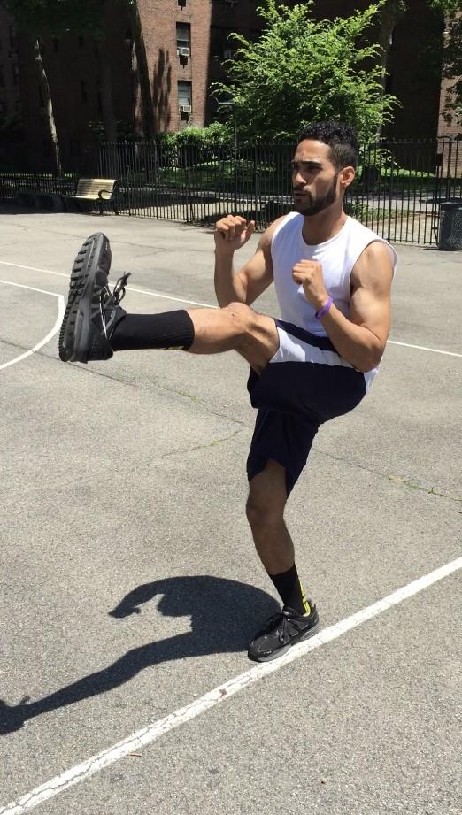 Leg lift excercise