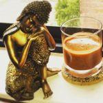 Buddha and drink
