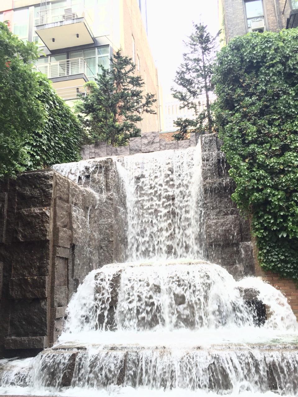Urban Waterfall