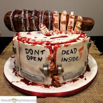 Pleasing Scary Halloween Cake The Cake Boutique Funny Birthday Cards Online Inifofree Goldxyz