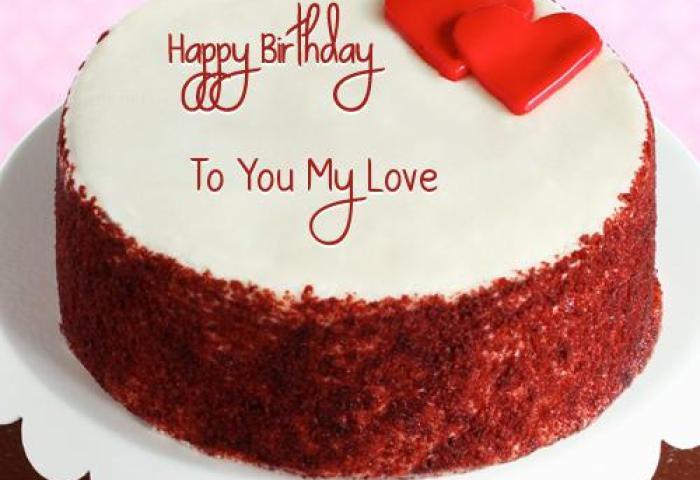 Happy Birthday Cake For Husband Romantic Birthday Wishes