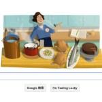 今日のGoogleロゴはジュリア チャイルドに。。。って誰?