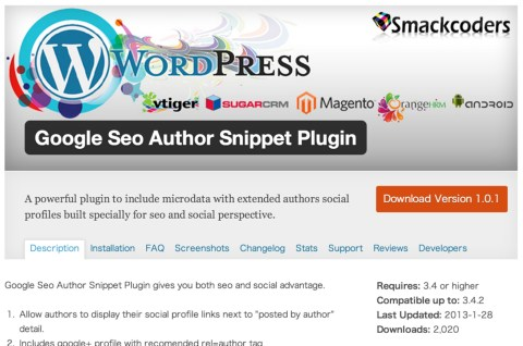 Google seo author snippets