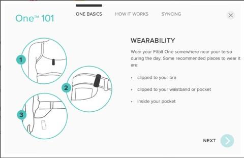 Fitbit one setup 015