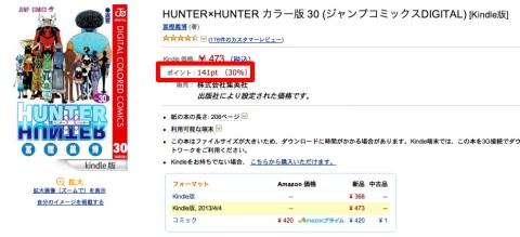 Amazon co jp HUNTER×HUNTER カラー版 30