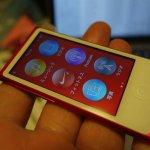 現時点で最新の第7世代iPod nanoを購入。Bluetoothヘッドホンが使えて快適です。