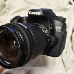 デジタル一眼レフカメラ、Canon EOS 70Dを購入しました。