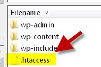 چه جور فایل htaccess را بسازیم