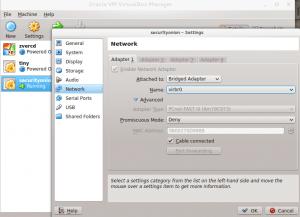 راه اندازی virtualbox از طریق tor