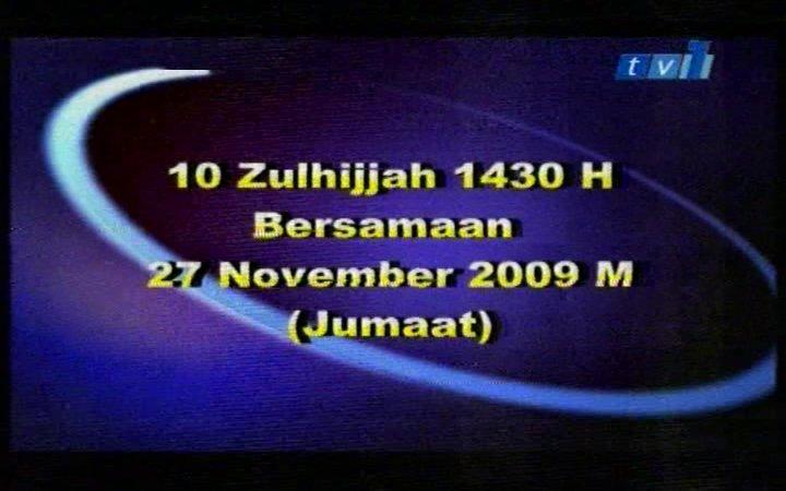 10zulhijjah1430H