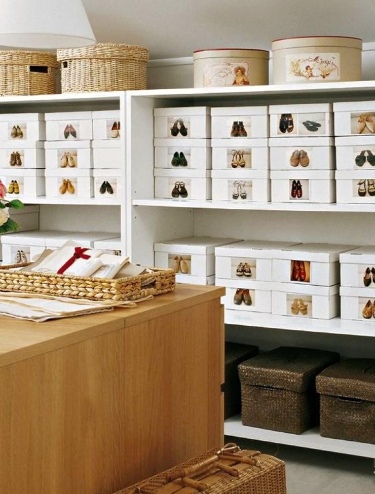 comment trier et ranger ses chaussures. Black Bedroom Furniture Sets. Home Design Ideas