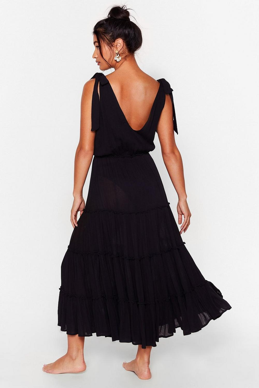 Cover up beach midi dress