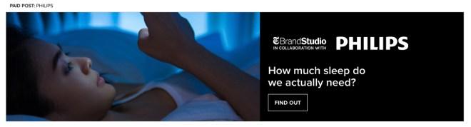 Пример Flex Frame c сайта NYT