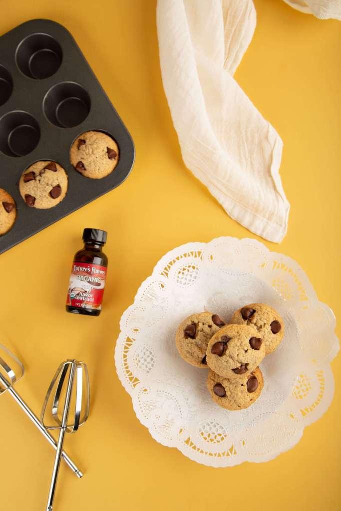 banana rum chocolate muffins