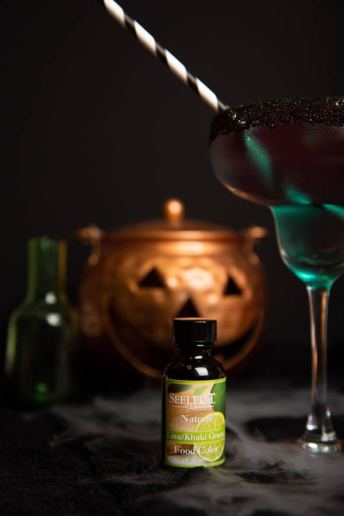 ingredients needed to make witch's brew margaritas
