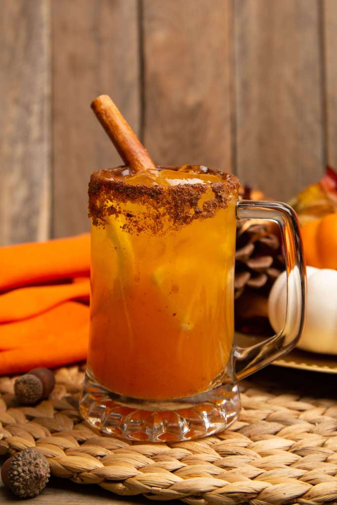 Thanksgiving Pumpkin Smash Cocktail