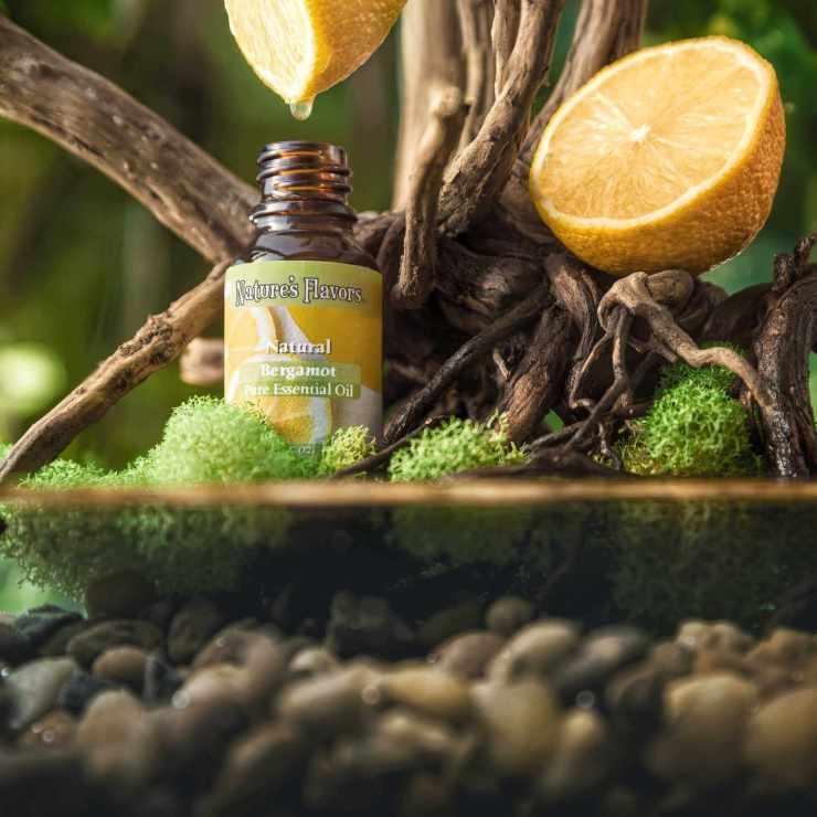 Nature's Flavors all natural bergamot essential oil.