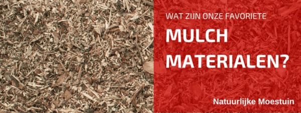 Plan en Voorzie in Uw Eigen Mulch!