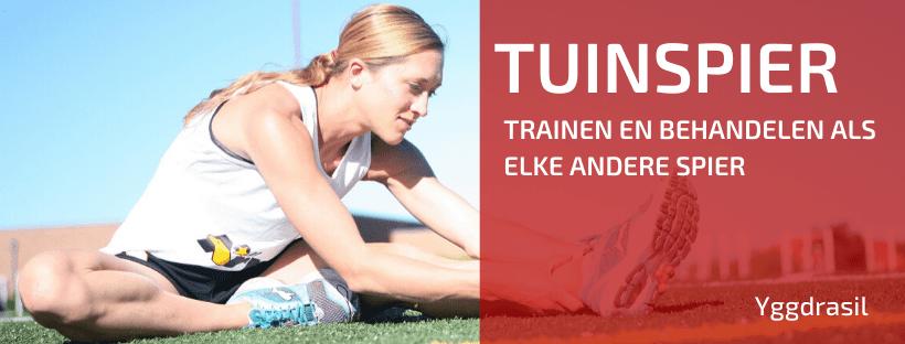 Spieren Moet je Trainen, Ook je Tuinspier!