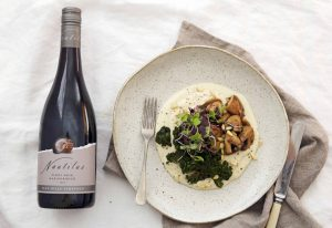 Nautilus_Low Res_Landscape_Vegan parsnip cauli puree w mushrooms crunchy kale 2