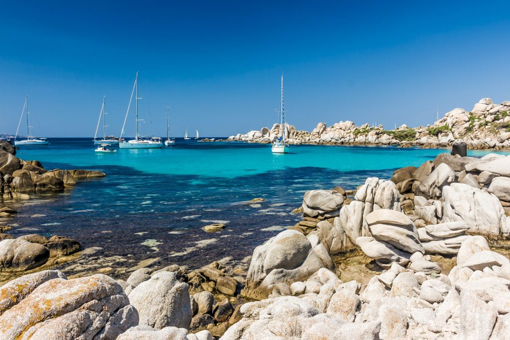 top 5 anchorages in Corsica