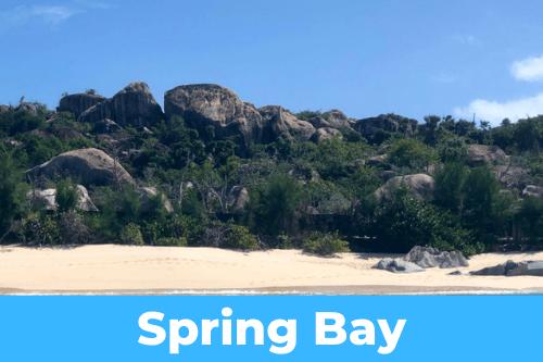Spring bay anchorage