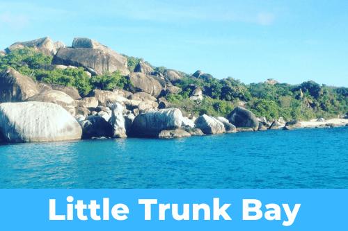 Little trunk bay anchorage