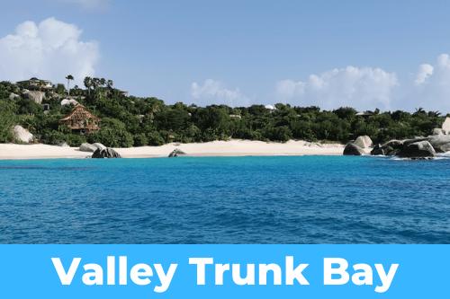 Valley Trunk Bay anchorage
