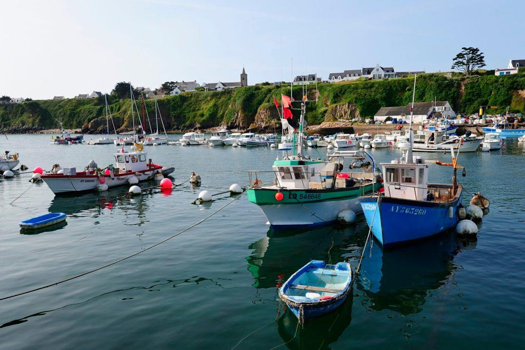 Les meilleurs mouillages des îles Bretonnes