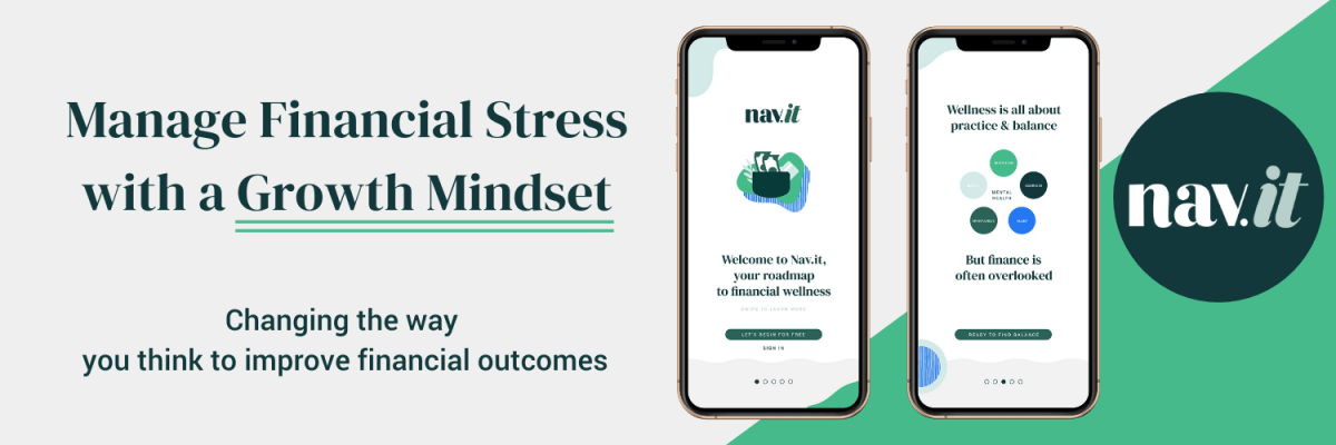 Improve employee wellness by helping them managing their financial stress with the nav.it money tracking app.
