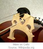 cello-mute